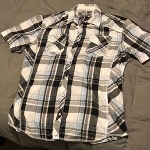 Men's Short Sleeve Flannel